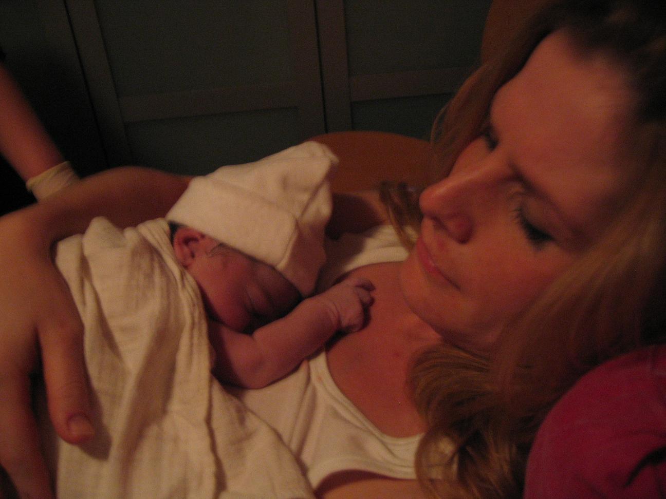 Ayla met mama