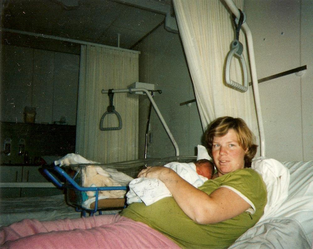 Nienke met mama